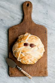 make a mummy baked brie for halloween babble
