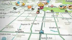 Waze Map Popular Waze Navigation App Driving Some People Crazy Cbs Los