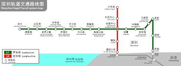 Shanghai Metro Map In Chinese by Shenzhen Metro Map China