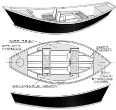 becy wooden jon boat building plans
