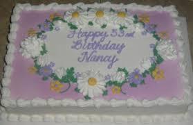 1 4 sheet birthday cake images lavender w daisies 1 4 sheet cake