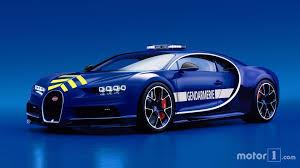 blue bugatti pull over french police gifted a bugatti chiron