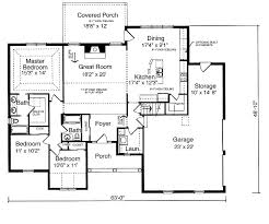 3 bedroom house plan with garage home plans ideas