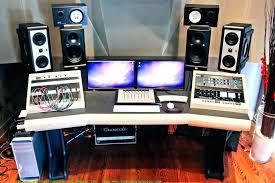 home recording studio desk home recording desk bedroom studio desk guest bedroom studio cant