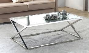 Mirrored Top Coffee Table Coffee Tables Side Tables Coffee Tablemarvelous Mirror Top Coffee