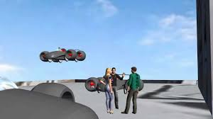 Flying Car Futuristic Cars Concept Cars Youtube