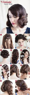 easy 1920s hairstyles 32 vintage hairstyle tutorials you should not miss styles weekly
