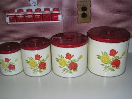 metal canisters kitchen 253 best canisters images on vintage canisters