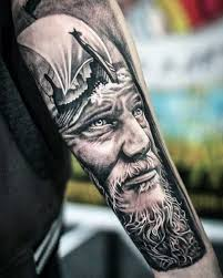 collection of 25 lower arm warrior viking tattoos