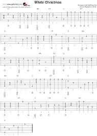 white christmas fingerstyle guitar lesson guitarnick com