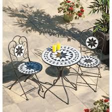 Mosaic Bistro Table Set Mosaic Balcony Set The Uk039s No 1 Garden Furniture Store