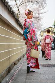 young women in kimono dress editorial photography image 45842207