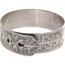 silver antique bracelet images Belt buckle bangle bracelet charles horner sterling silver jpg