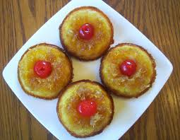pineapple upside down mini bundt cakes flavors by four