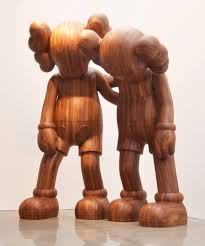 thanksgiving mickey mouse kaws u0027 18 foot tall demented mickey mouse sculptures take over the