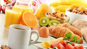 download wallpaper 1920x1080 breakfast croissants coffee eggs
