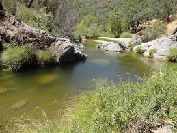Henry Coe State Park Map by Water Conditions Creeks