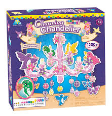 Children Chandelier Amazon Com The Orb Factory Sticky Mosaics Charming Chandelier