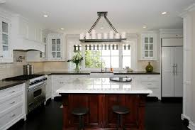 marble island kitchen kitchen w marble island countertop