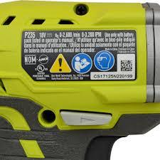 ryobi tools p235 18v 1 4