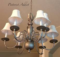 Dining Room Chandeliers Pinterest Light Fixture Makeovers And Replacements Pinterest Addict