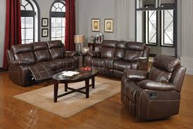 Reclining Leather Sofa Myleene Motion Sofa 603021 In Bonded Leather Match By Coaster