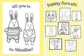 the too cute coloring book bunnies book by little bee books