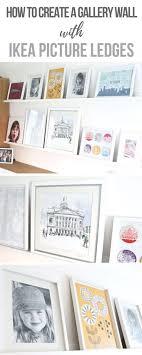 ikea mosslanda how we created the perfect gallery wall with ikea mosslanda