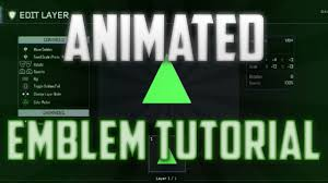 how to make an animated emblem on bo3 easy tutorial youtube