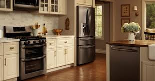 what color cabinets match black stainless steel appliances 10 decorating ideas for above kitchen cabinets black