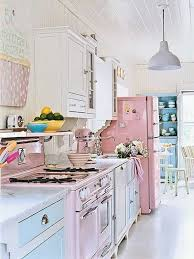 pastel kitchen ideas awesome shabby chic kitchen designs