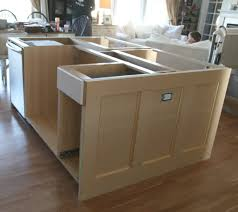 build kitchen island ikea cabinets ikea hack how we built our kitchen island jeanne oliver