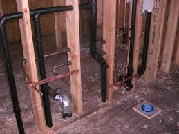 Plumbing Basement Bathroom Rough In Rough Plumbing Casa Di Costa