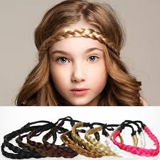 hair bands for women dhl braided wig elastic headbands hair bands fashion hair