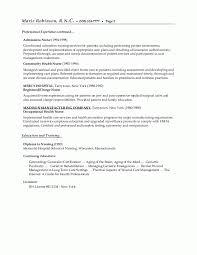 Sample Resume Objectives For Students by Nursing Home Resume Licensed Nursing Home Administrator Resume