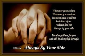 always find me by your side free support ecards greeting cards