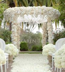 innovative outdoor wedding ceremony decorations set dining table