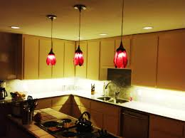 ash wood cherry glass panel door kitchen pendant lighting ideas