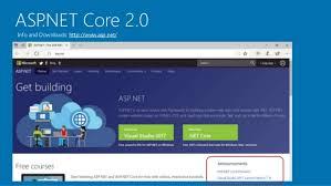 tutorial asp net core 2 0 asp net core 2 0 the future of web apps