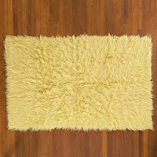 Grey Shaggy Rugs Flooring Fur Rug Flokati Rug Grey Shag Rug