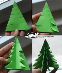 modern design folding tree neat way to make paper trees
