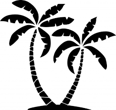 palm tree clipart plam pencil and in color palm tree clipart plam