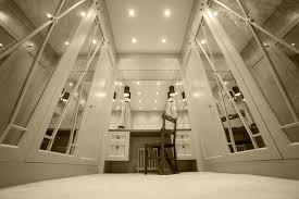 beautiful bespoke dressing room design in surrey