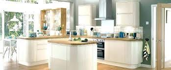 meuble cuisine arrondi poignaces de meubles de cuisine meuble cuisine sans poignace meuble