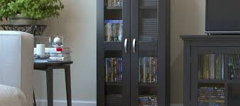 Media Storage Cabinet Cd U0026 Dvd Media Storage You U0027ll Love Wayfair