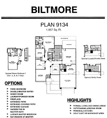 monster floor plans floor plans for the biltmore models inside arizona traditions an