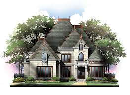 castle house plans home styles archival designs house plans 83876