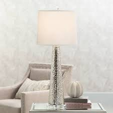 Mercury Glass Table Lamp Hobbes Tapered Mercury Glass Table Lamp 8k693 Lamps Plus
