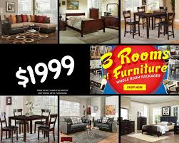 living room packages with free tv 3 rooms of furniture for 1999 exclusive furniture