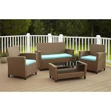 furniture 4 piece conversation sets patio furniture